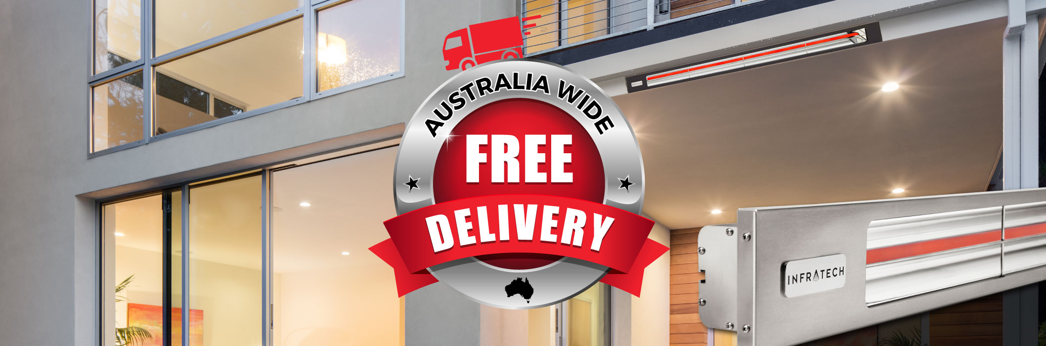 Infratech Heaters - Free Shipping - Aus