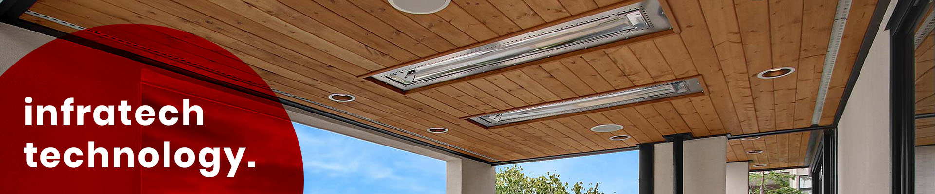 Infratech Heaters presents Outdoor Design Trends